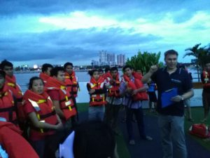 River Cruise - HSEP Trainings (Cambodia)